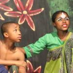 Mowgli and his mother, Messua. (Snowy Thomo, Grade 5; Siyabulela Thabethe, Grade 6)